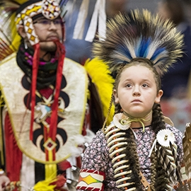 26th Annual The 26th annual ECNAO powwow was held on campus in Mingles Coliseum.