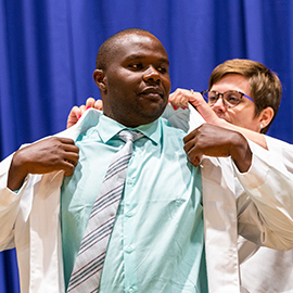 The Brody School of Medicine White Coat Ceremony was held Aug. 3.