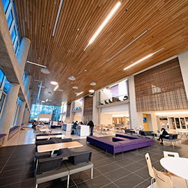 The new Main Campus Student Center opened on Monday, Jan. 7.