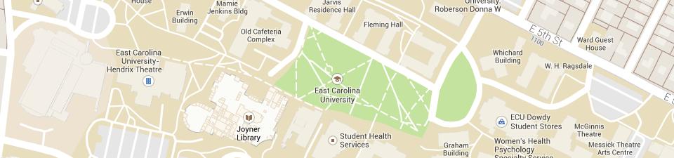 Pdf Maps East Carolina University
